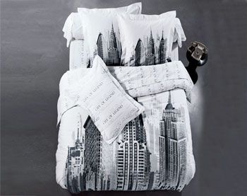 Couvre Lit New York Noir Et Blanc Recherche Google Duvet Covers Duvet Abstract Artwork