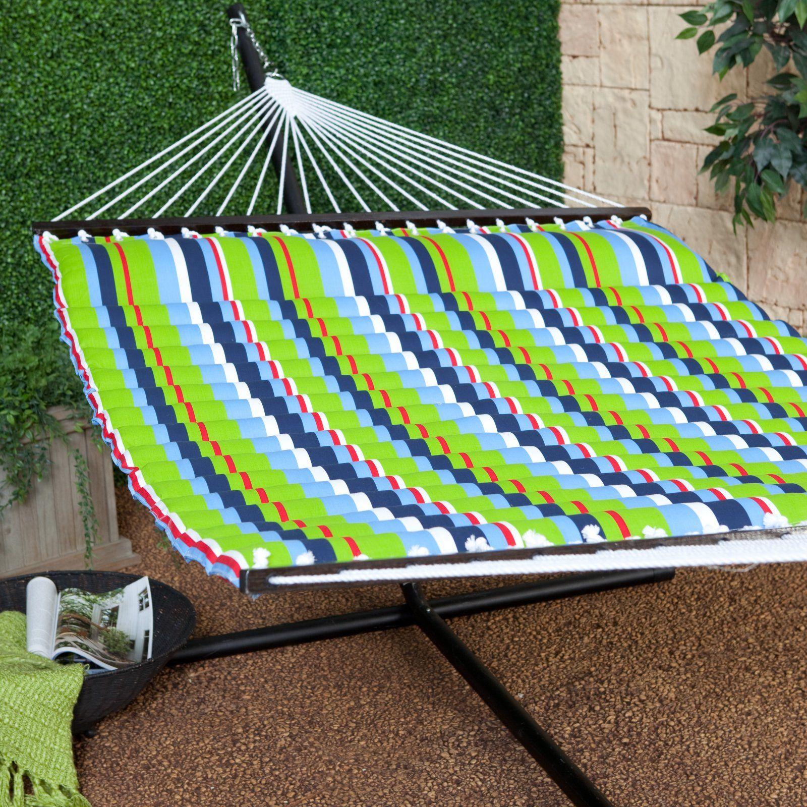 island bay brights pillow top hammock with stand   hammock with stand sets at hammocks island bay brights pillow top hammock with stand   hammock with      rh   pinterest