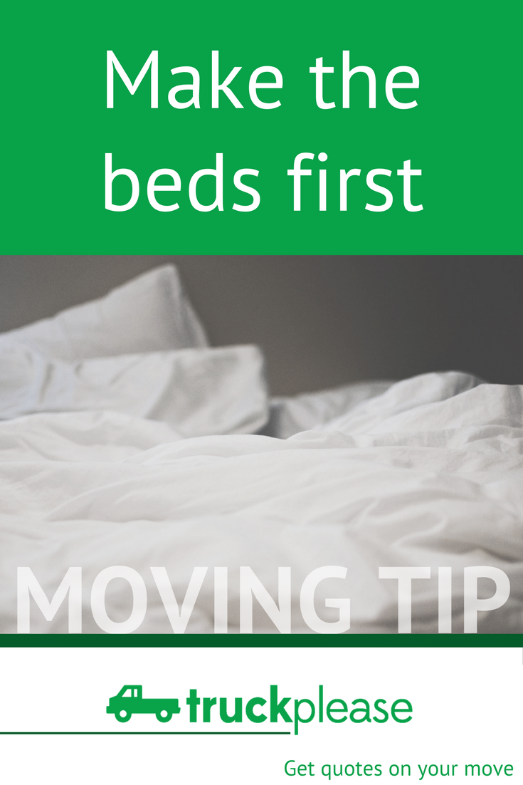 Moving Company Quotes Classy Moving Tip 👉🏻 Make The Beds First#movingtips #movingday