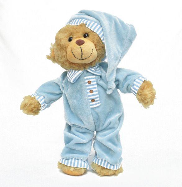 Korimco Baby Cherish First Bear Blue