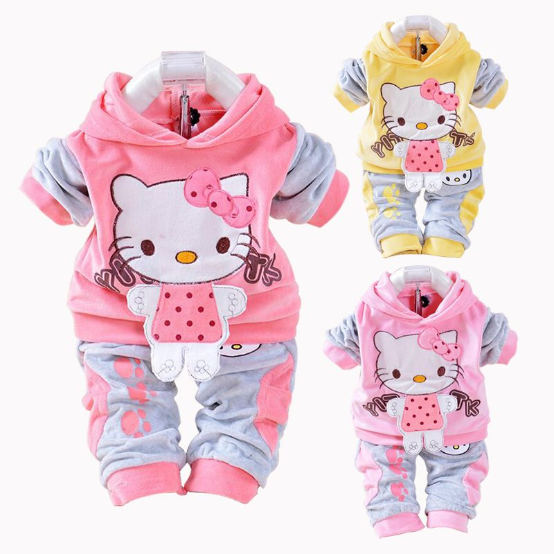 410fac1c5611 Pin by World of Hello Kitty on Girls  Clothing Sets in 2018 ...