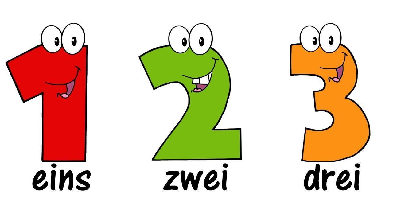 ♫ GERMAN Numbers Song 1-20 ♫ Zählen von 1 bis 20 ♫ Zahlenlied ...