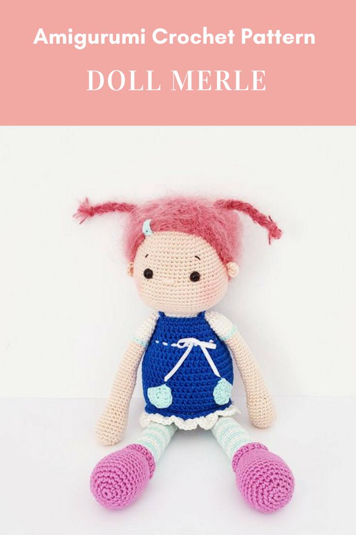 Amigurumi Crochet Doll Pattern \