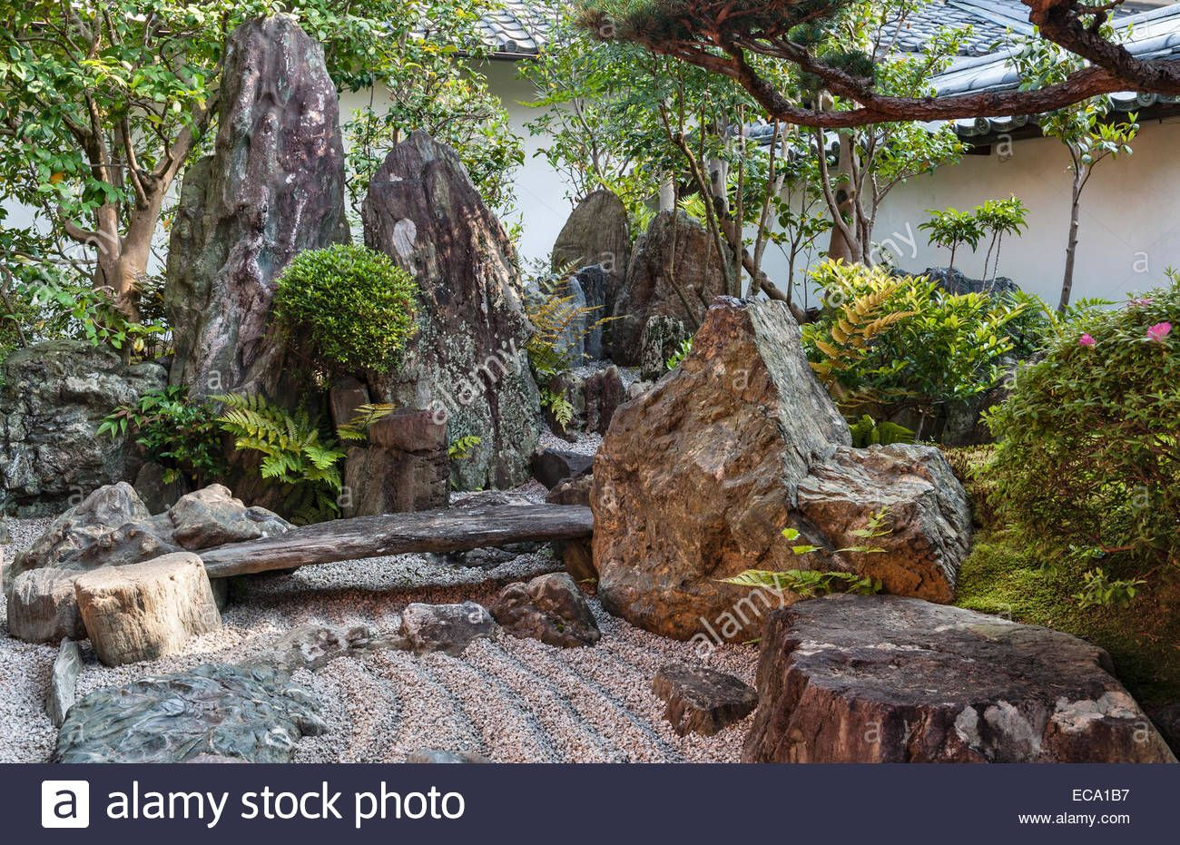 Download This Stock Image Daisen In Zen Temple Daitoku Ji Kyoto Japan A Corner Of The Hojo Garden Eca1b7 From Alamy S Library Of Millions Of High Resolut