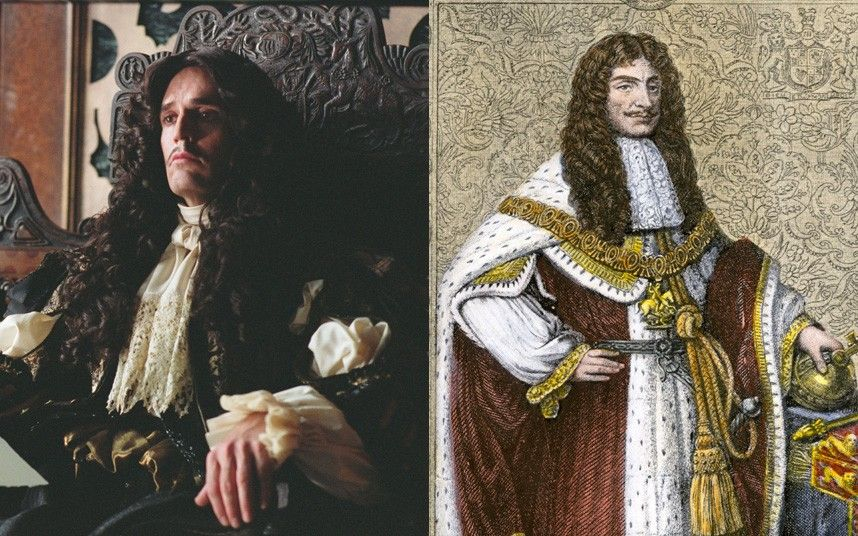 Rupert Everett as King Charles II in 'Stage Beauty'.  Picture: Alamy