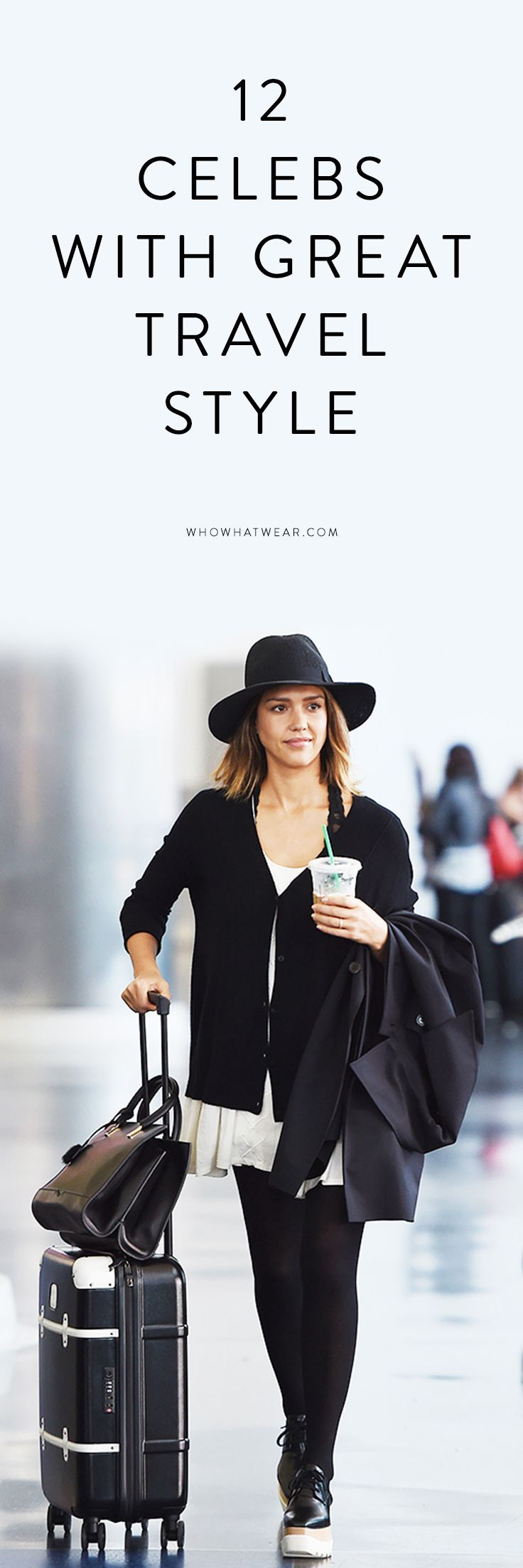 12 Insanely Stylish Celebrity Airport Arrivals -