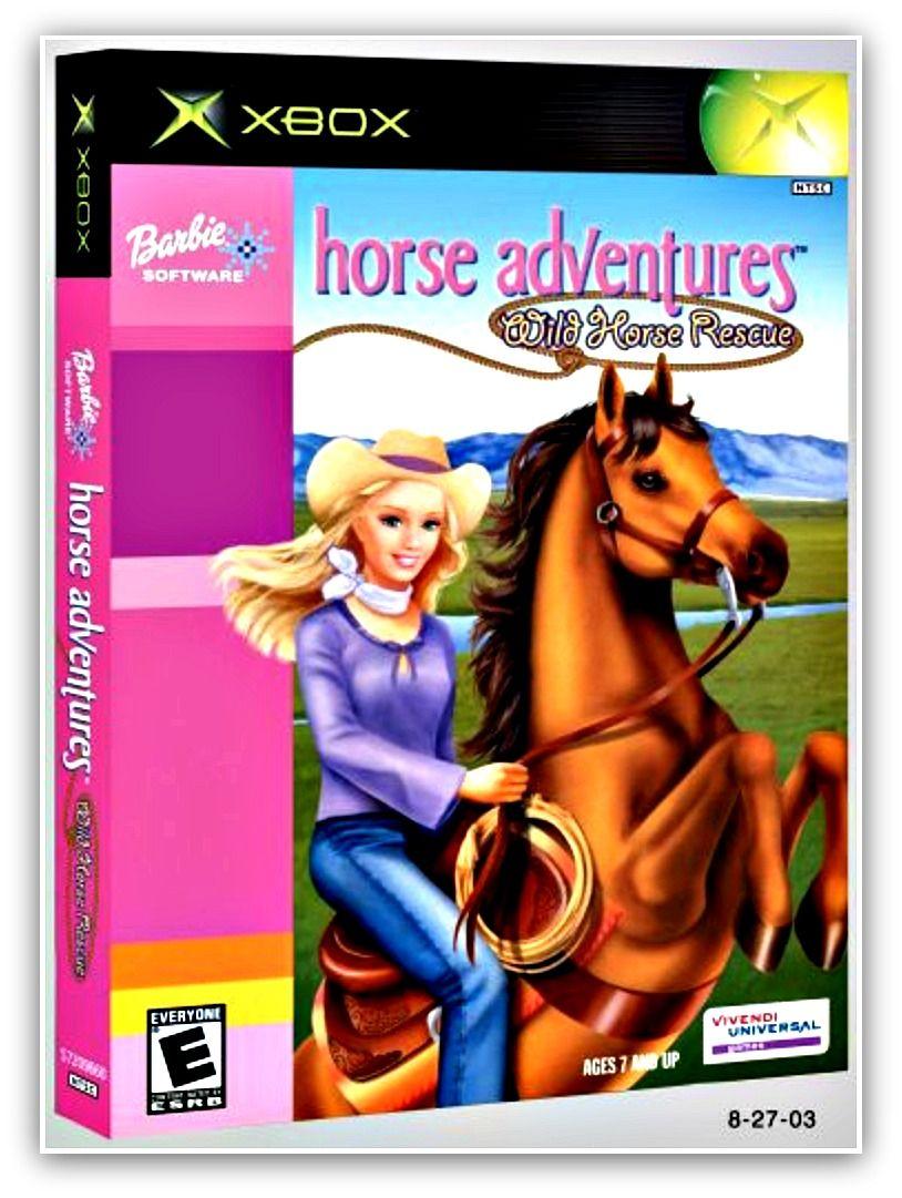 Barbie Horse Adventures Wild Horse Rescue Vivendi Universal With