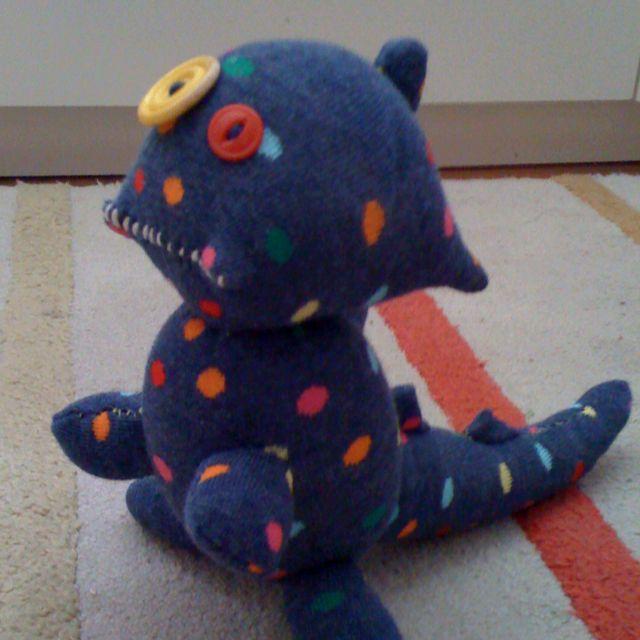 Sock monster! stinkincuties.etsy.com