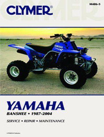 clymer repair manual for yamaha atv yfz350 banshee 87 06 clymer rh pinterest co uk yamaha banshee service manual pdf free yamaha banshee service manual download