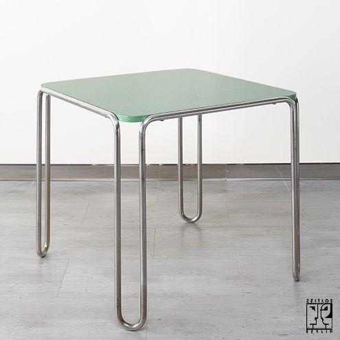 B 10 Table By Marcel Breuer In Original Condition Zeitlos Berlin