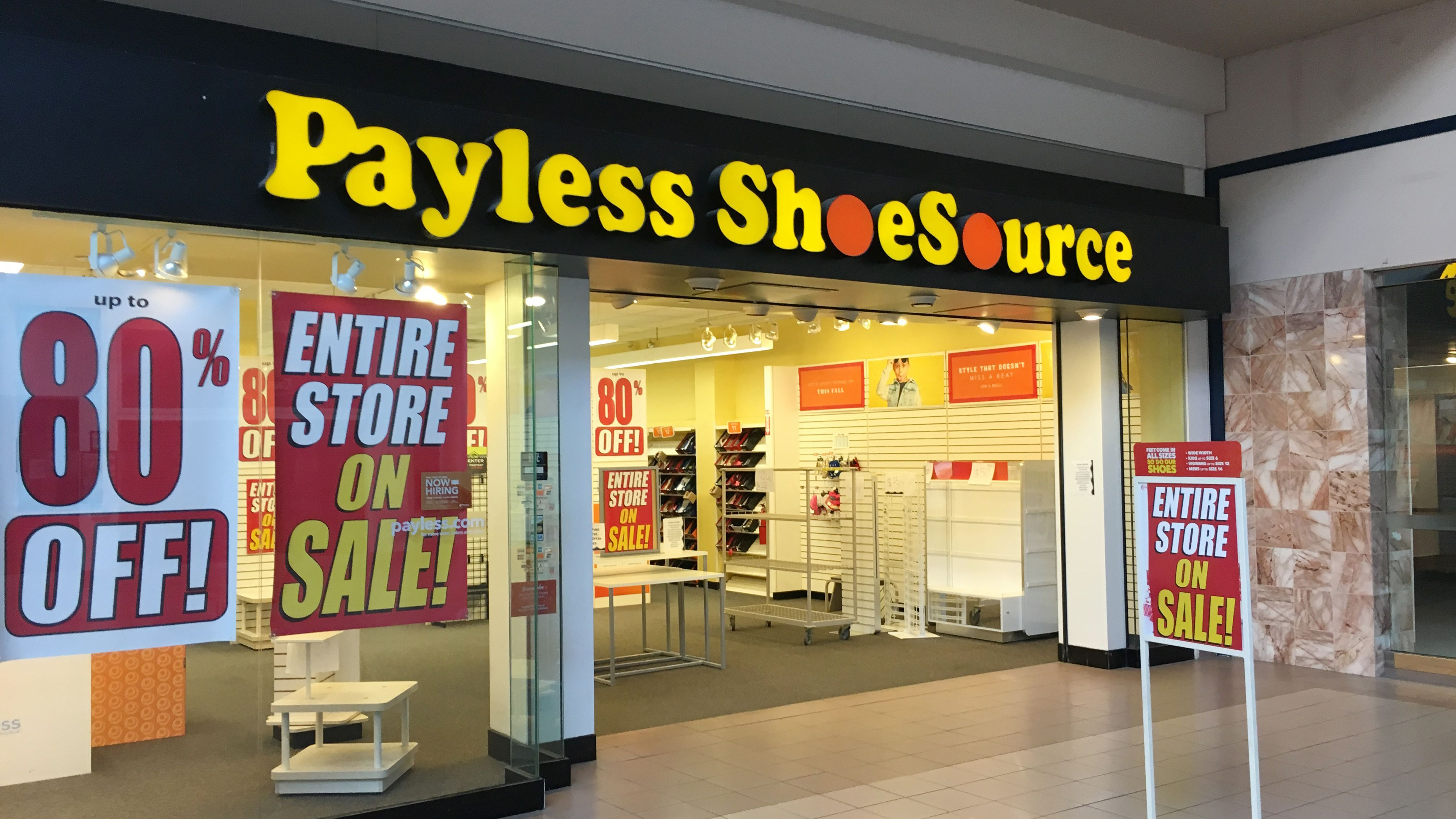 Payless ShoeSource has confirmed it