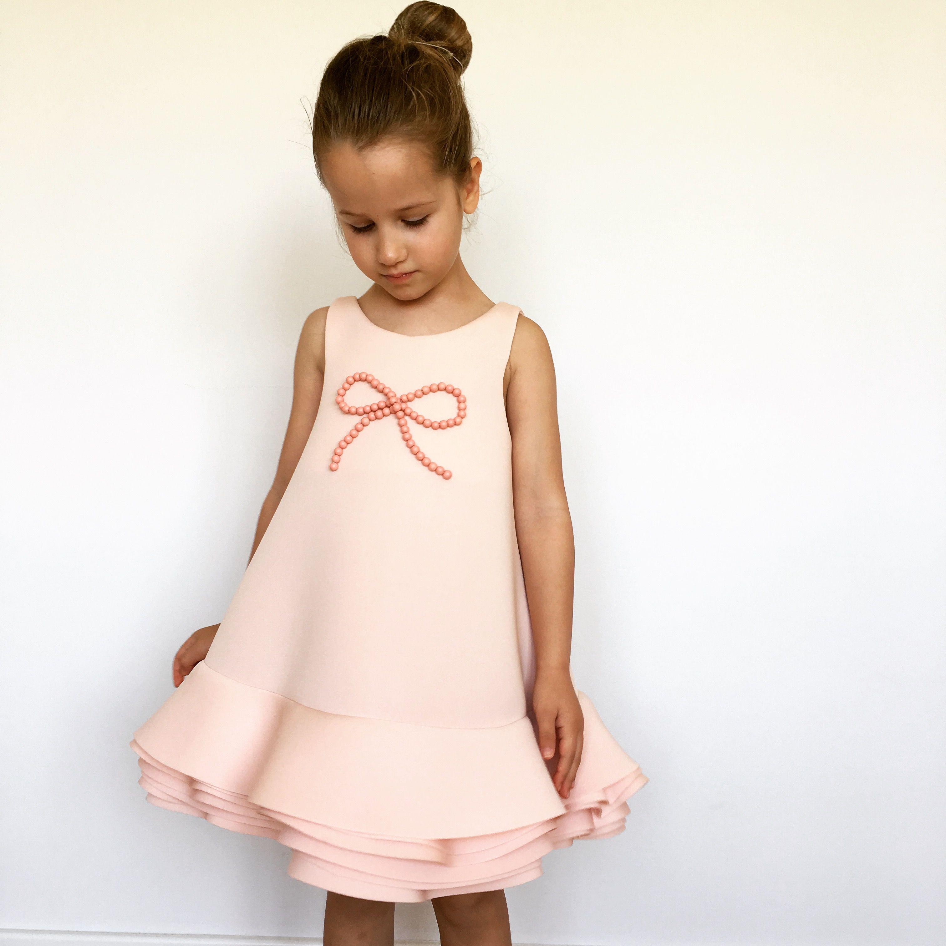 Neoprene bell dress pink baby apperal pinterest pink dresses