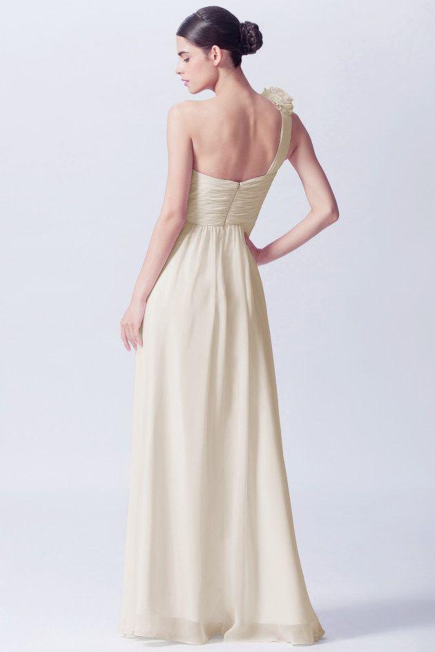 Model PJ180013🐳 Ivory bridesmaid dresses have become a celebrity ...