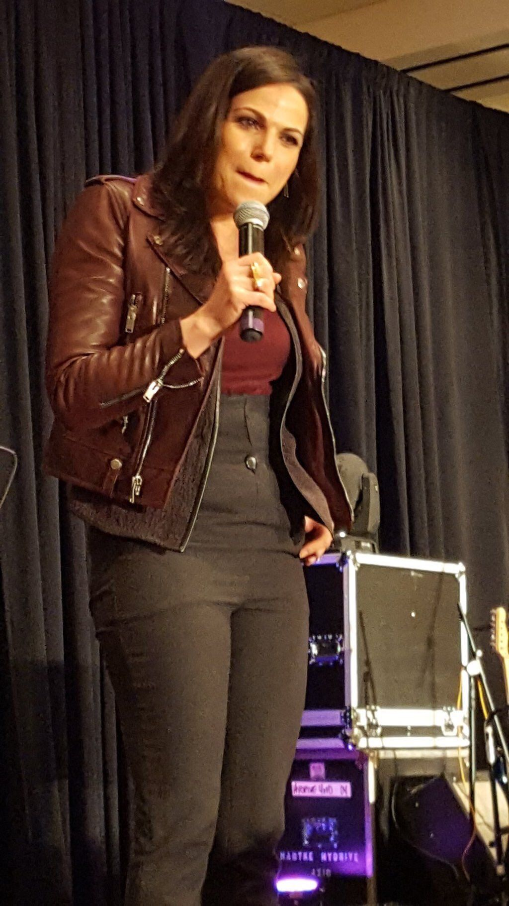 Lana at the welcome panel at #OUATCHI 2016