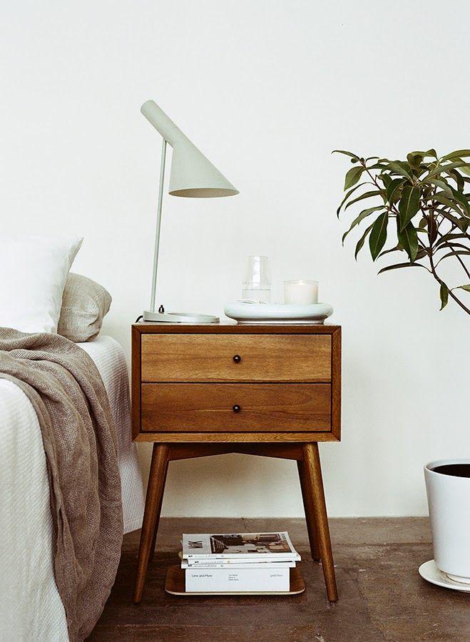 a bedside table via HEIMELIG blog Vintage einrichtungen