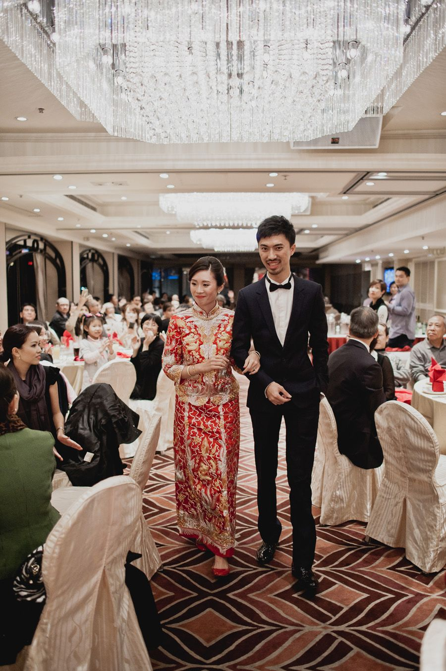 A Chic And Intimate Hong Kong Wedding Elgin And Kai Hong Kong Wedding Chinese Wedding Chinese Wedding Dress
