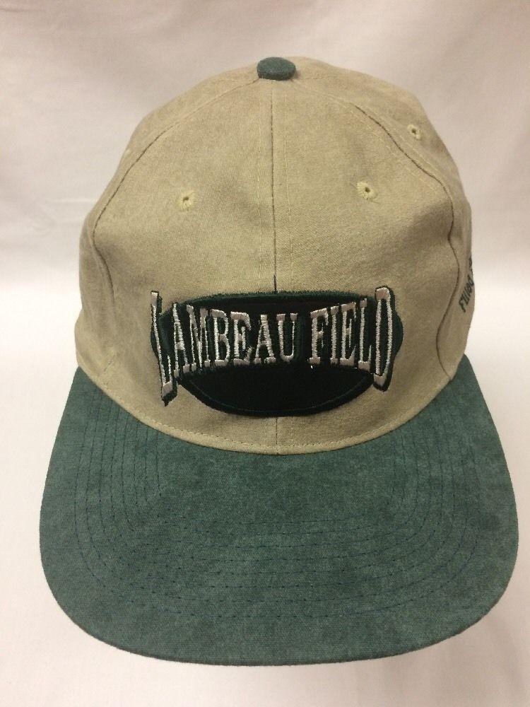94f5197d4ab05 Lambeau Field Green Bay Packers Hat Frozen Tundra Strapback Dad Cap Nice