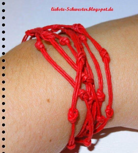 liebste schwester: DIY Knotenarmband #zalandodiy