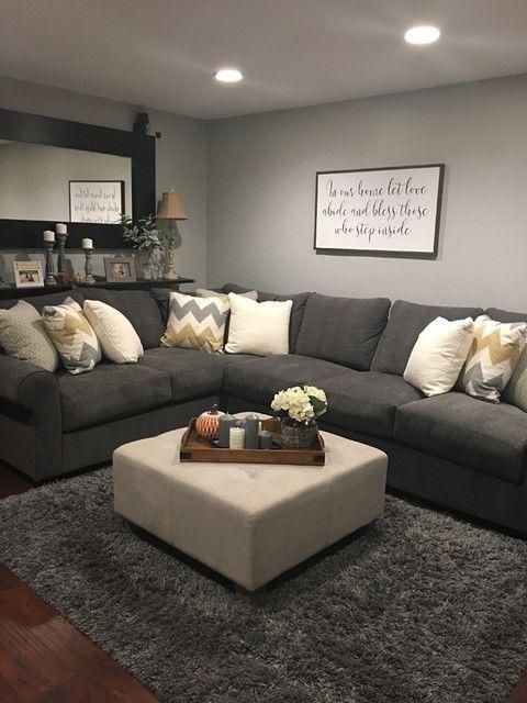10 komfortable und gemütliche Wohnzimmer Ideen, die Sie überprüfen müssen #cozyliving