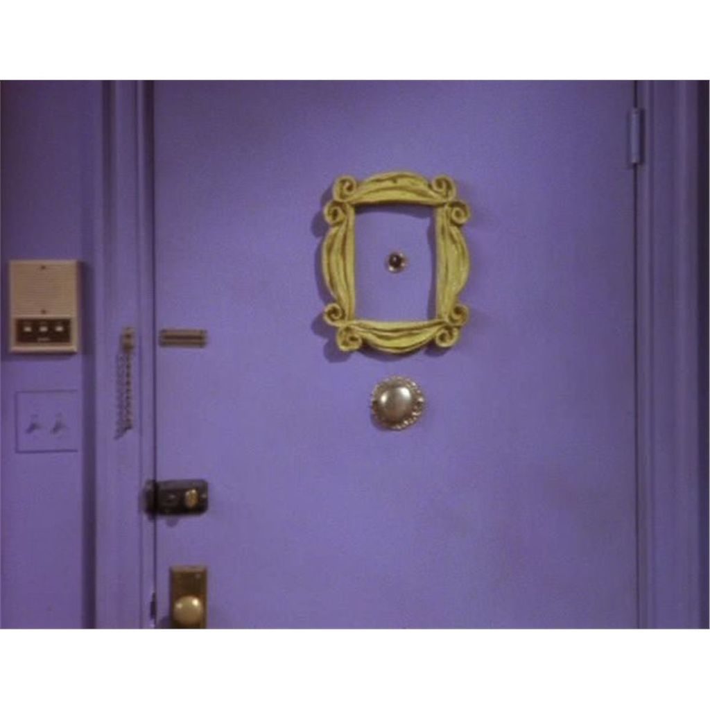 I love the peephole door frame in Monica Geller\u0027s apartment in the TV show Friends!  sc 1 st  Pinterest : friends door - pezcame.com