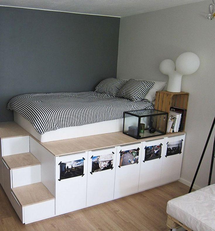 58 Comfy Minimalist Bedroom Decor Ideas Small Rooms Bedroomdecor Bedroomdesign Bedroomd Minimalist Bedroom Decor Small Apartment Storage Minimalist Bedroom