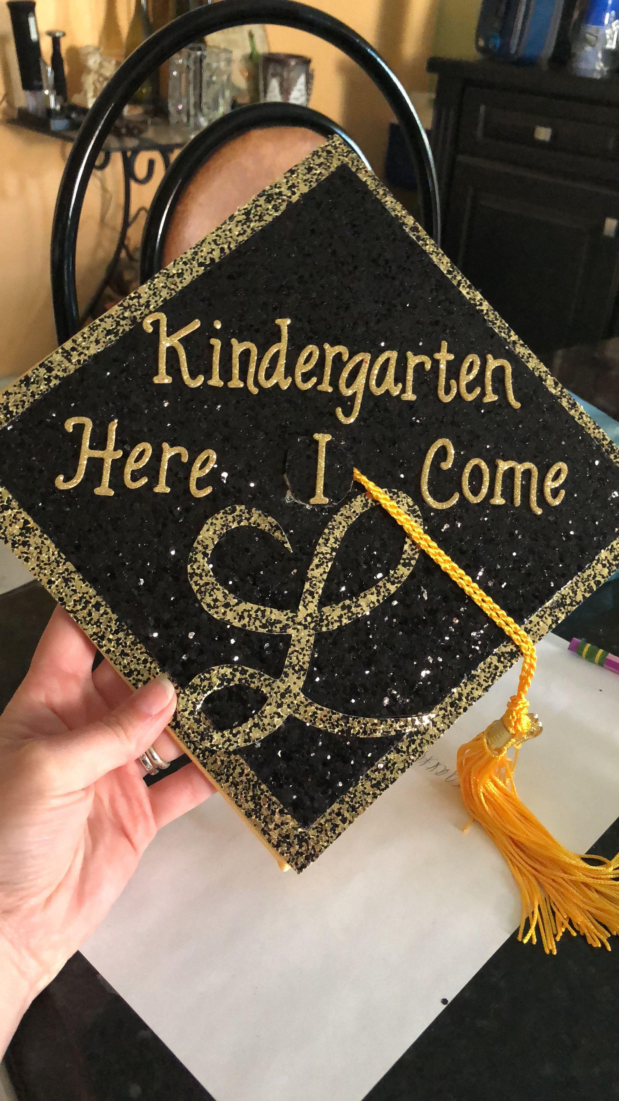 Pre K Graduation Cap Kindergarten Graduation Cap Pre K Graduation Diy Graduation Cap
