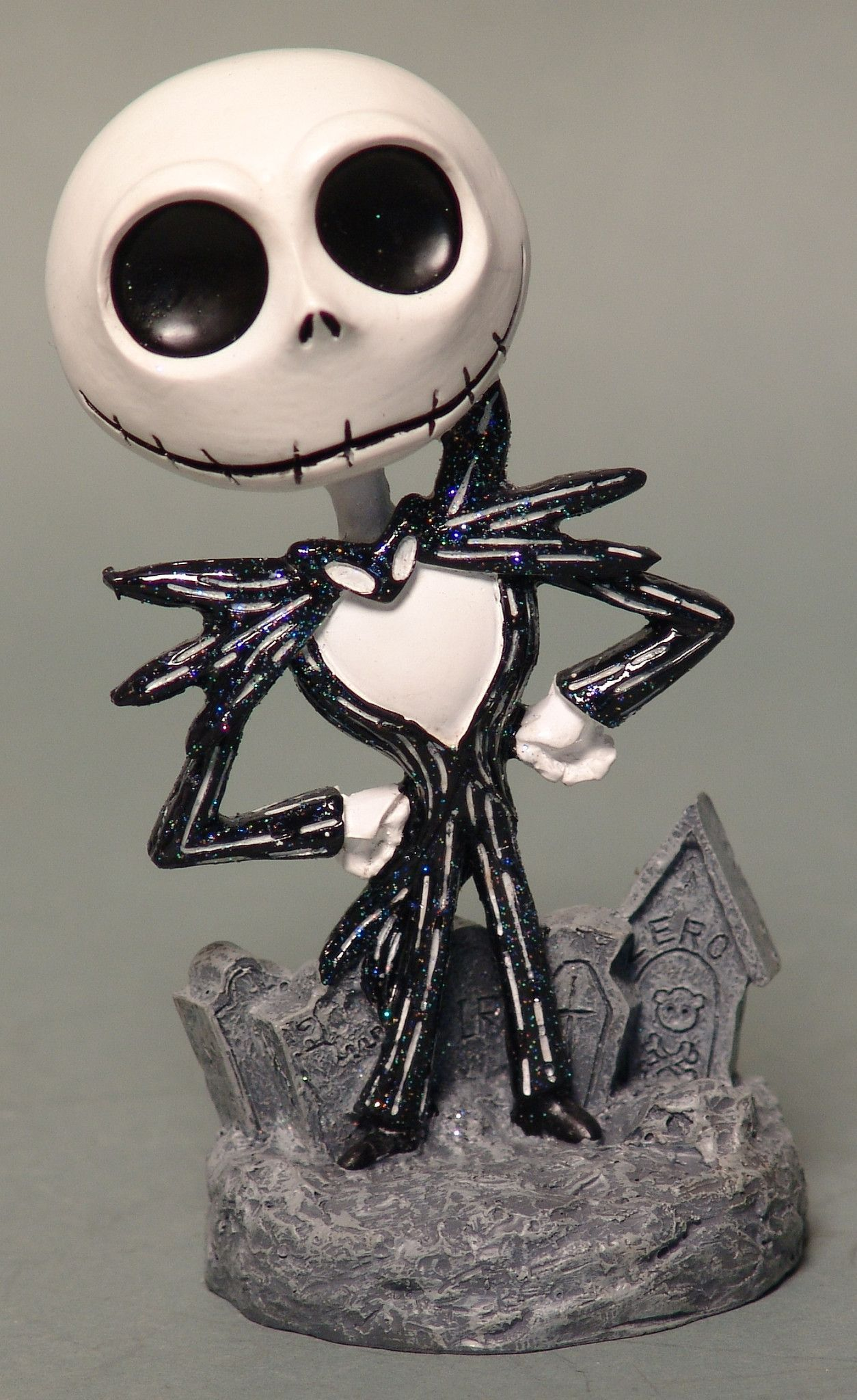 Nightmare Before Christmas 20th Anniversary Resin Jack Statue | Jack ...