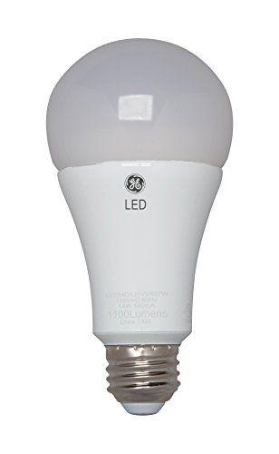 Ge Lighting 34369 Led 17 Watt 100 Watt Replacement 1750 Lumen A21 Bulb With Medium Base Daylight 1 Pa Ge Lighting Dimmable Led Lights Incandescent Light Bulb