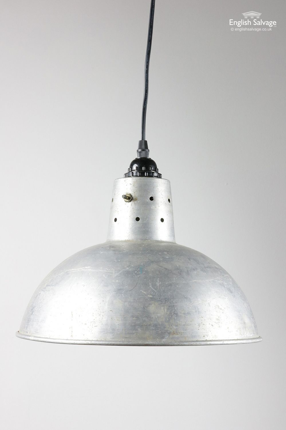 Re Wired Metal Pendant Light Englishsalvage Homerenovation Finditstyleit Homestyle