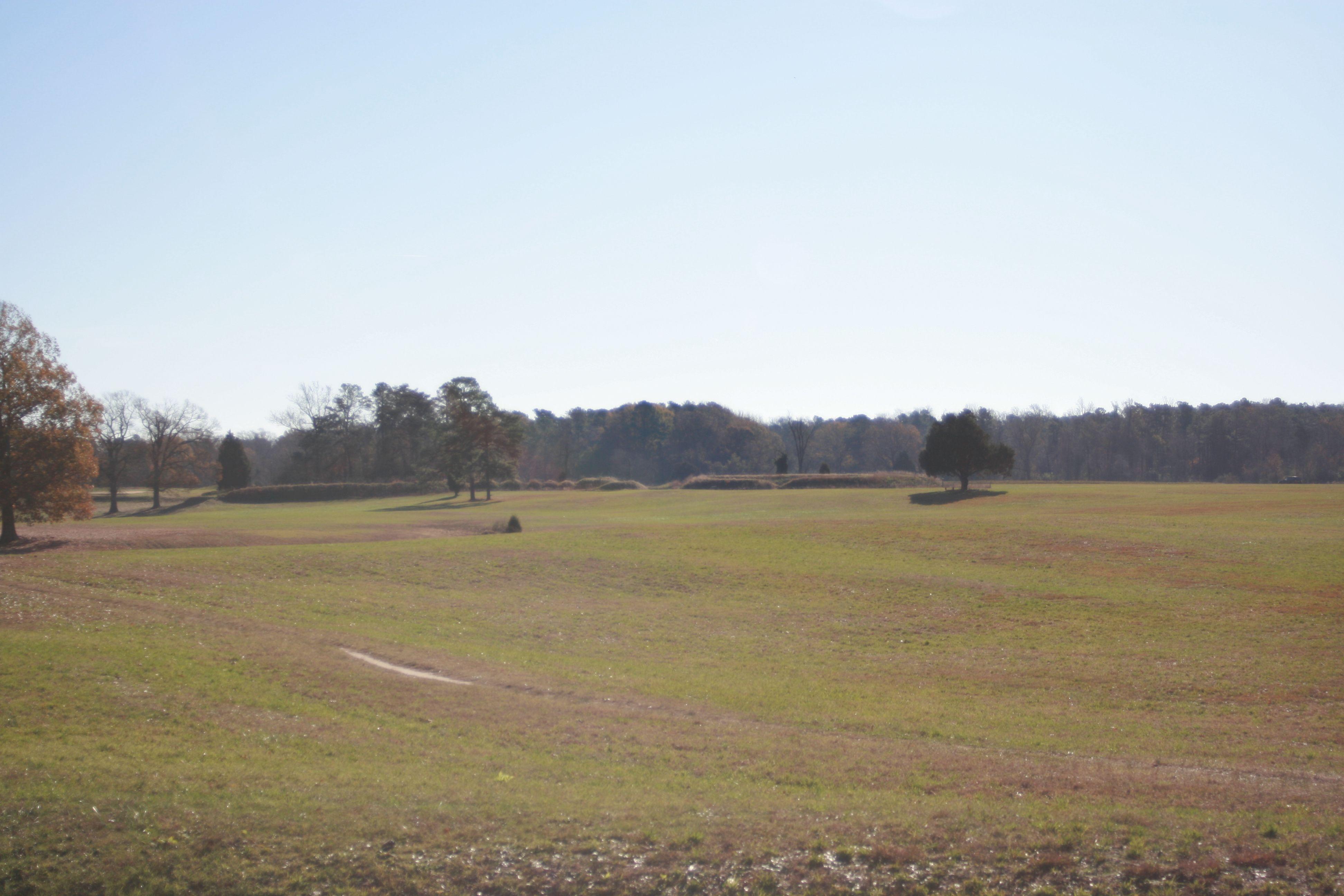 Yorktown Battlefield in Yorktown, Virginia.