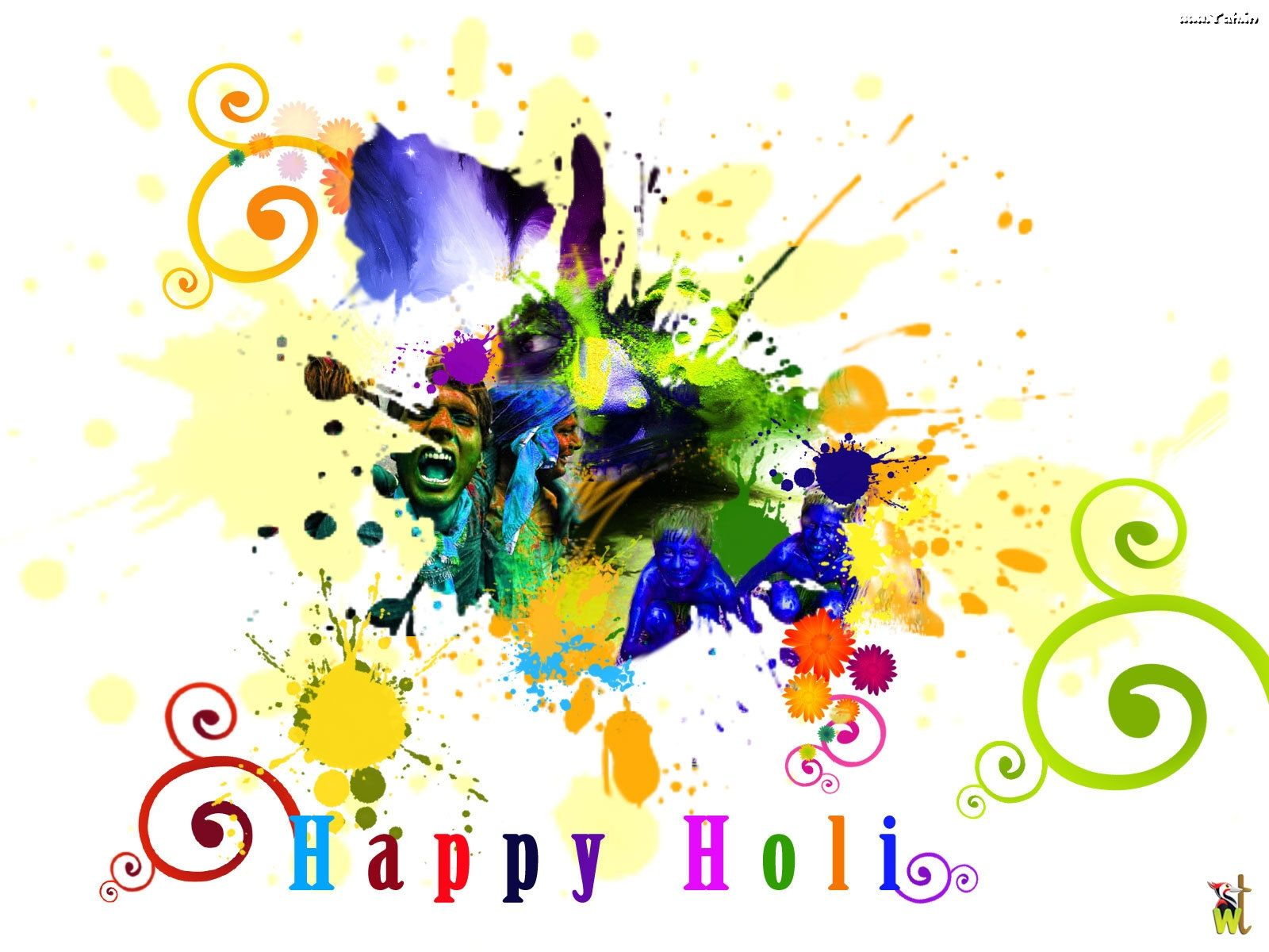 Cool Holi Wallpaper