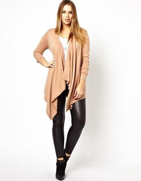 ASOS CURVE Waterfall Cardigan | Plus Size Fashion | Pinterest ...