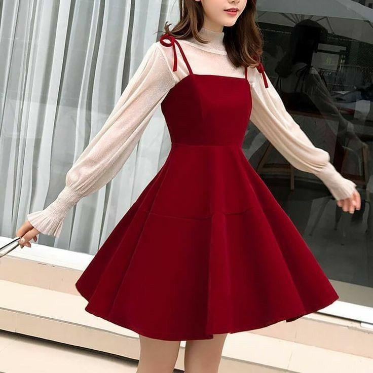 Pin By Jaci Aguivas On Roupas Korean Fashion Dress Korean Girl Fashion Kawaii Fashion Outfits