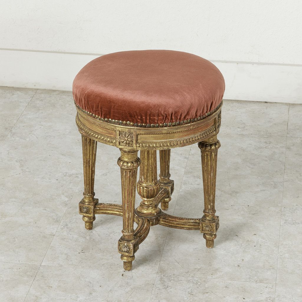 Excellent Louis Xvi Vanity Stool Romancing The French Bathroom Caraccident5 Cool Chair Designs And Ideas Caraccident5Info