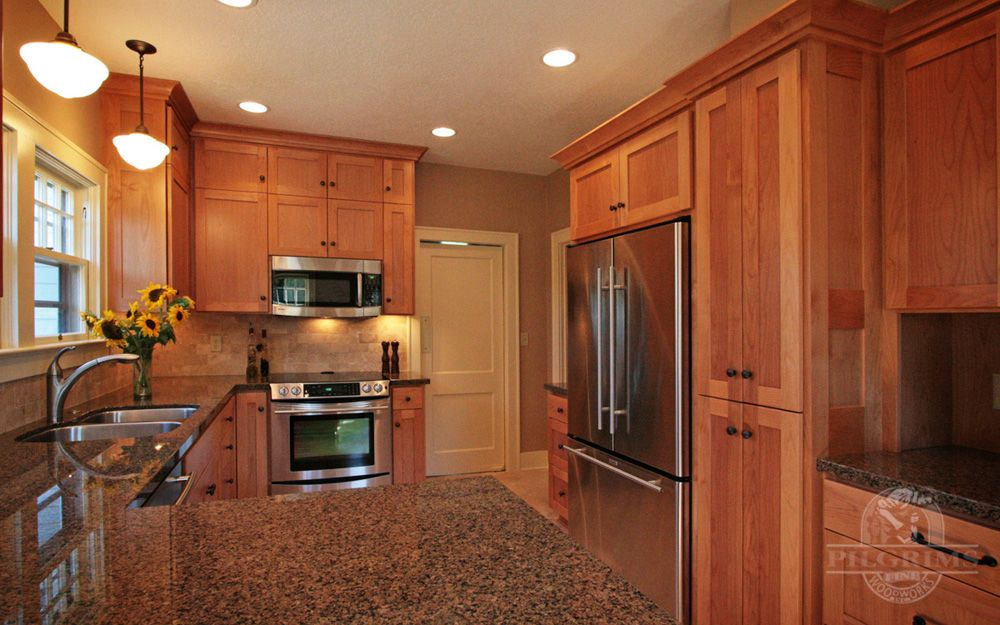Alder Cabinets With Granite Countertops Clear Alder Cabinetry With