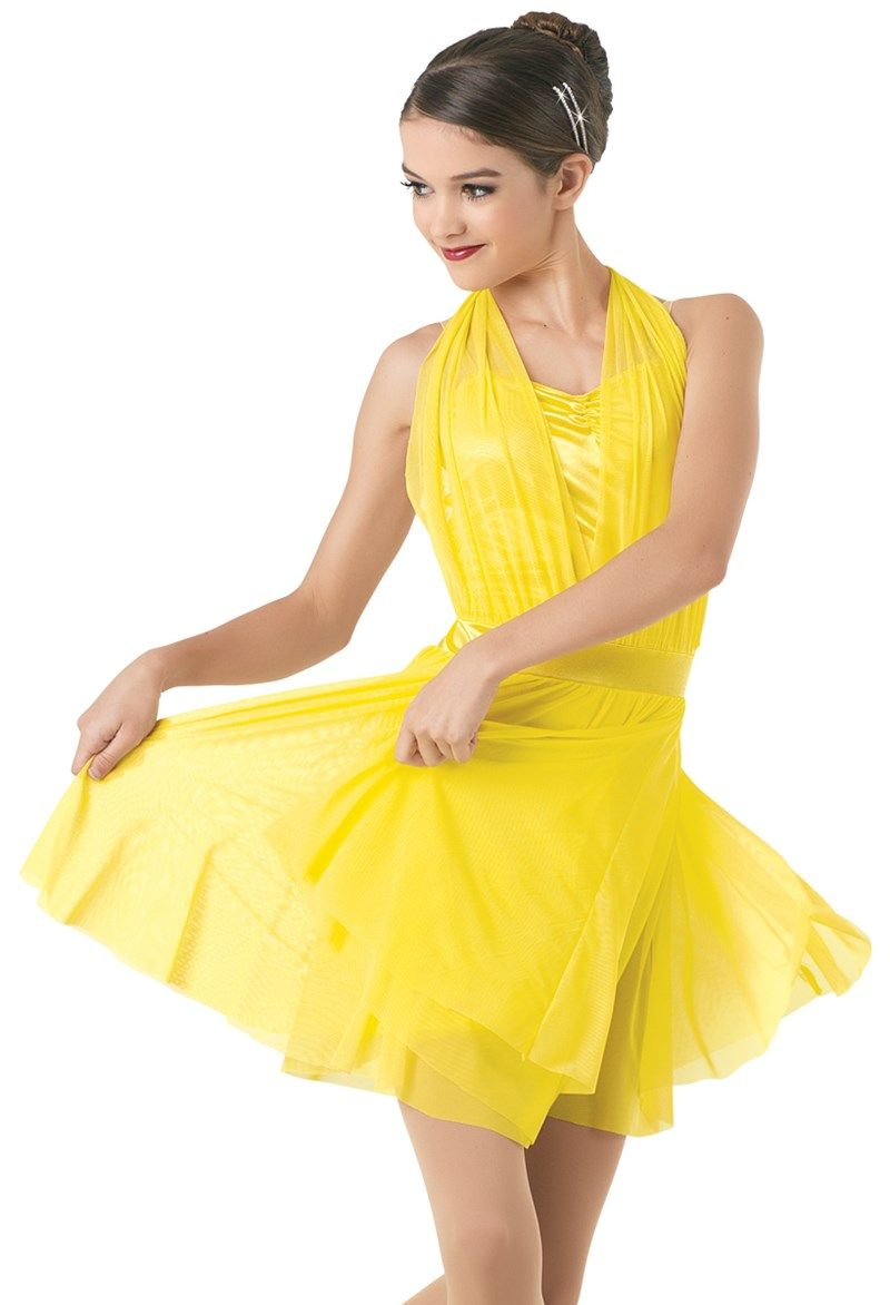 fe6aa3a8d Weissman® | La La Land Character Halter Dress | dance costumes in ...