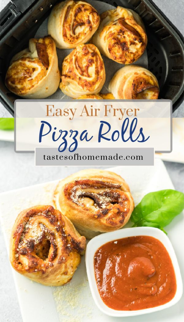 Air Fryer Pizza Rolls Recipe in 2020 (With images) Air