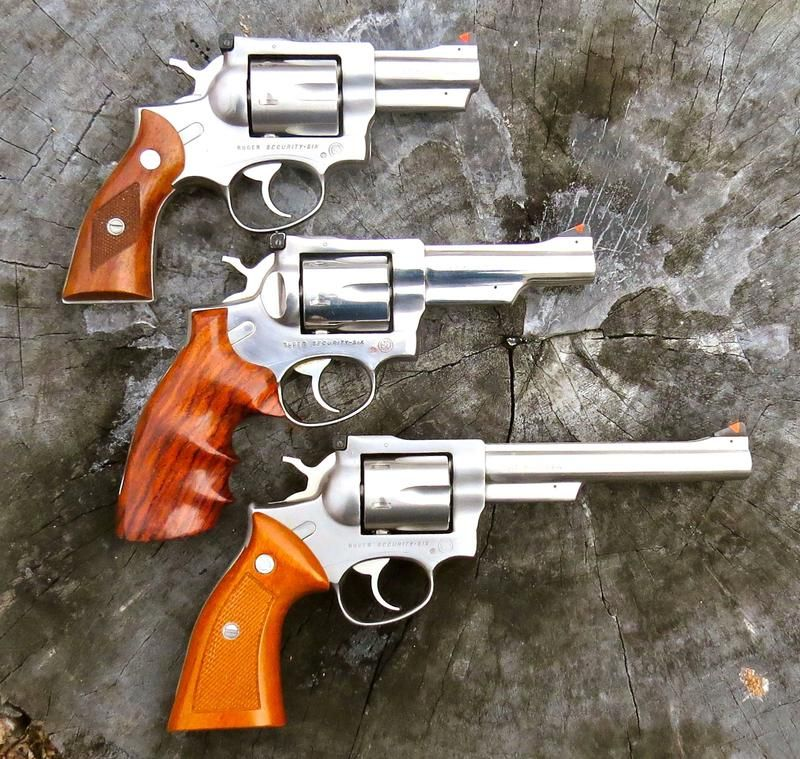 """Ruger Security Six .357 Mag 2 3/4, 4 and 6"""""""