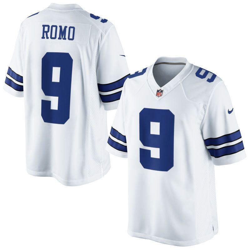 pretty nice 4fb0f f9779 Tony Romo Dallas Cowboys Nike Youth Limited Jersey - White ...