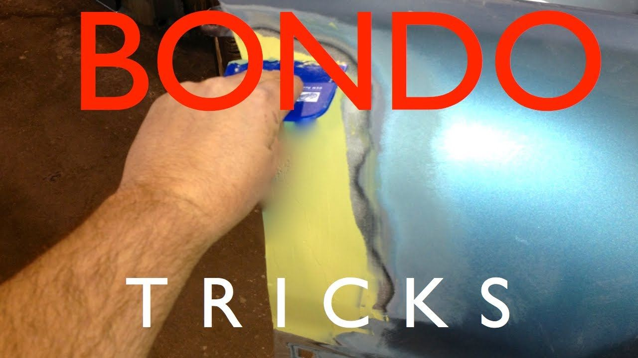 Bondo Tips And Tricks To Prevent Common Problems With Body Filler And Pu Tonight When I
