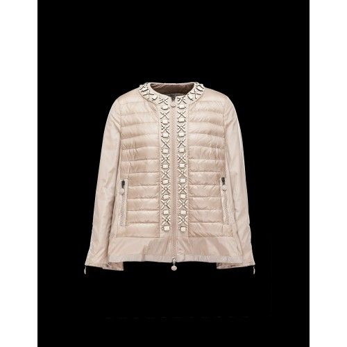 moncler jakke beige