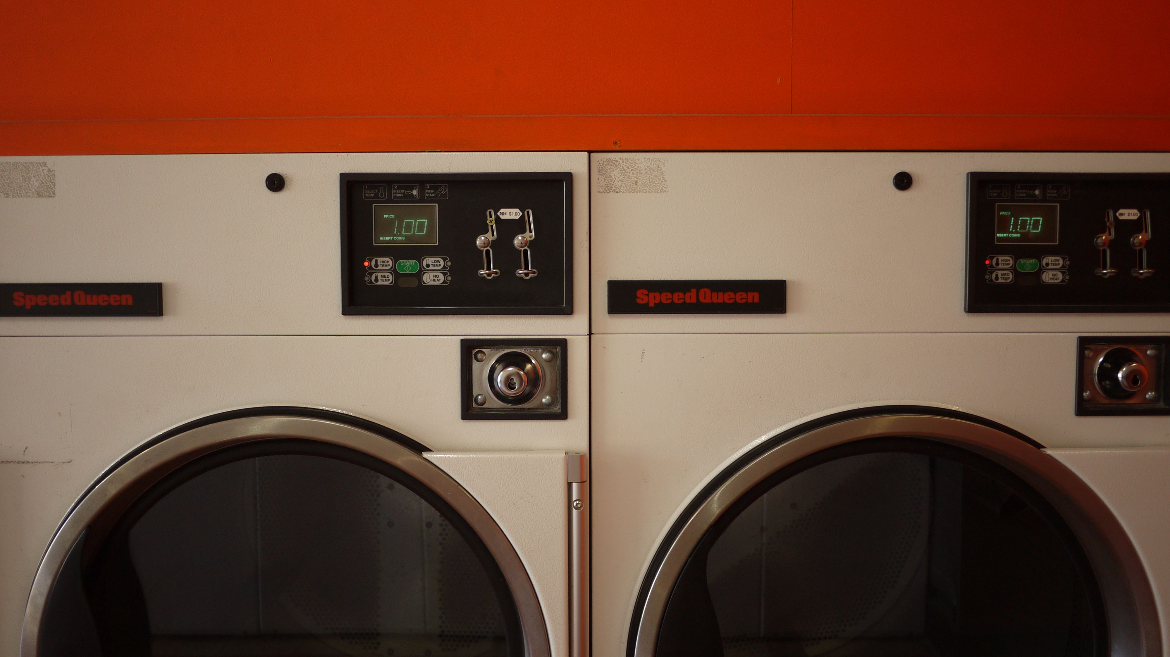Laundromat 1 Speed Queen Tumble Dryers With Images Tumble
