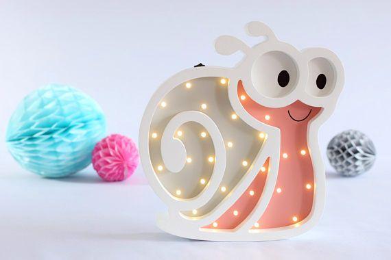 Babyzimmer Nightlight ~ Night light for baby nightlight snail gift for baby night