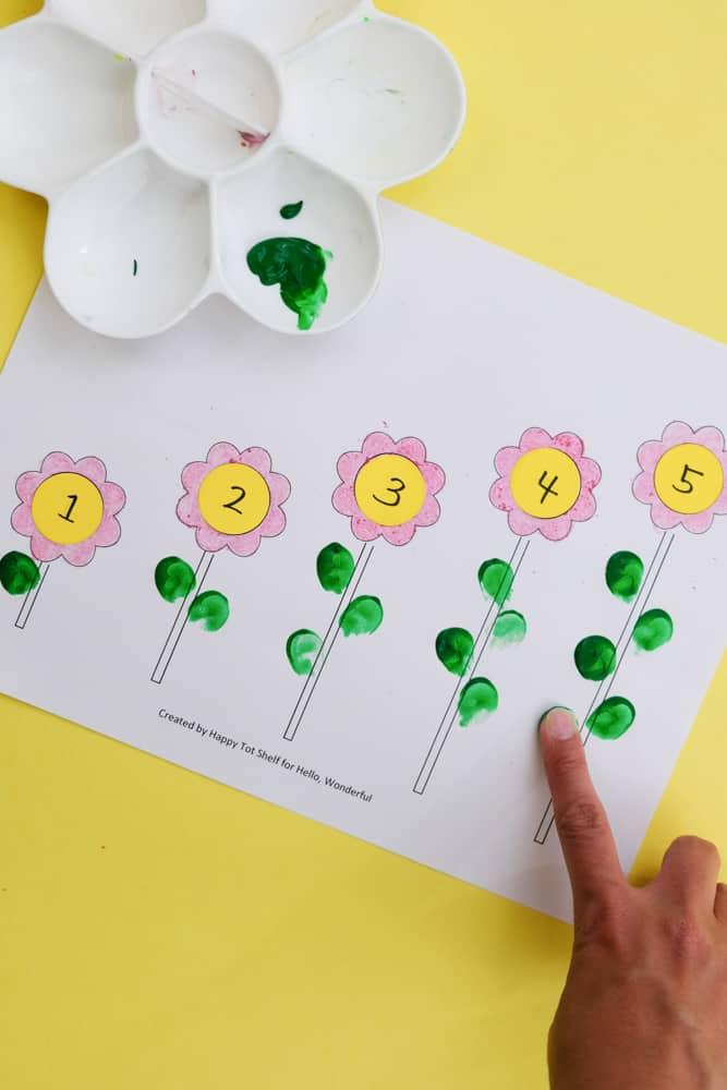 FLOWER LEARNING PRINTABLE