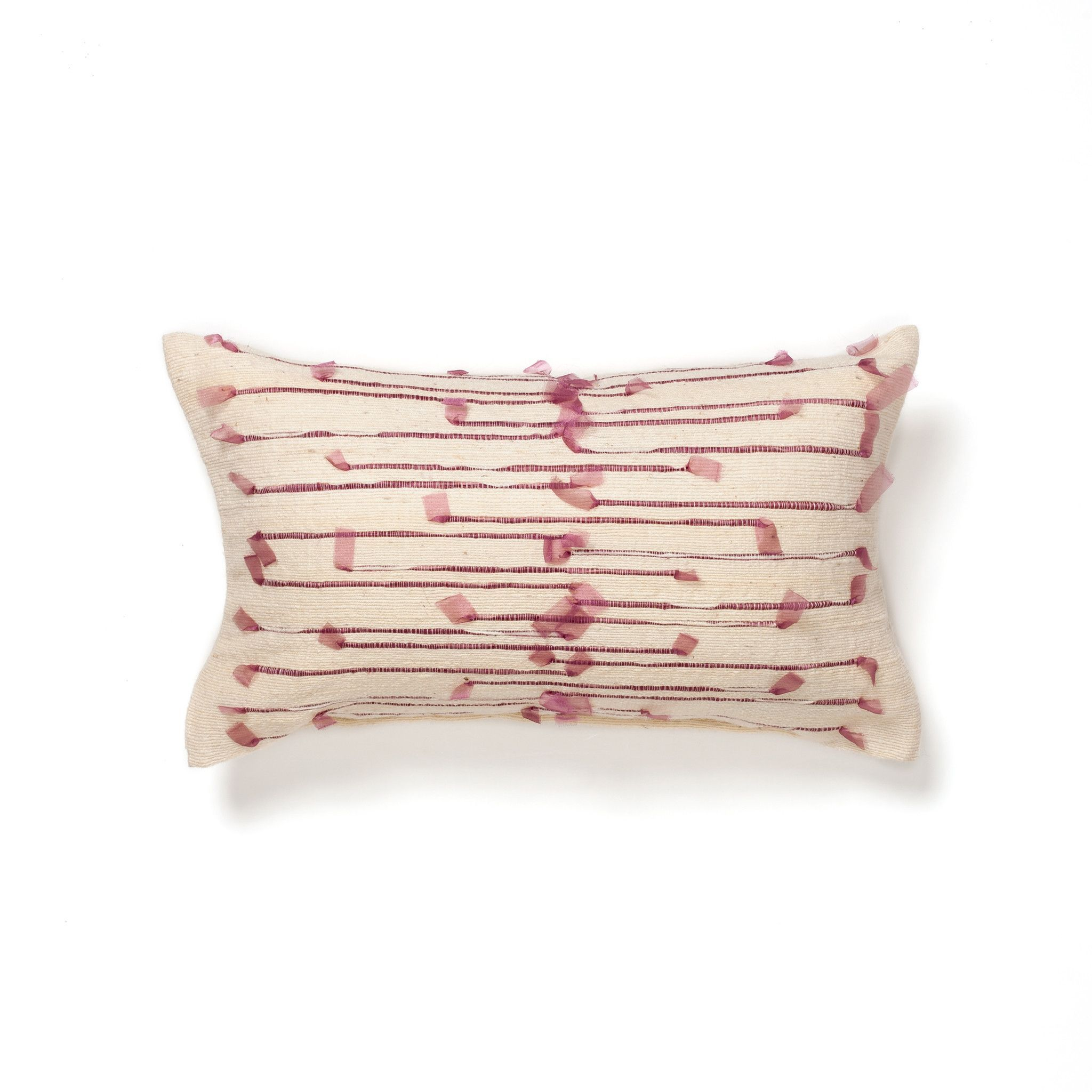 Organza ribbon cushion organza ribbon accent pieces and scandi