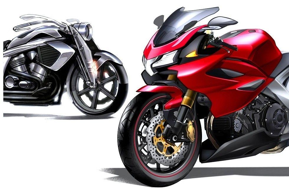 Sport Cruise Motocycle