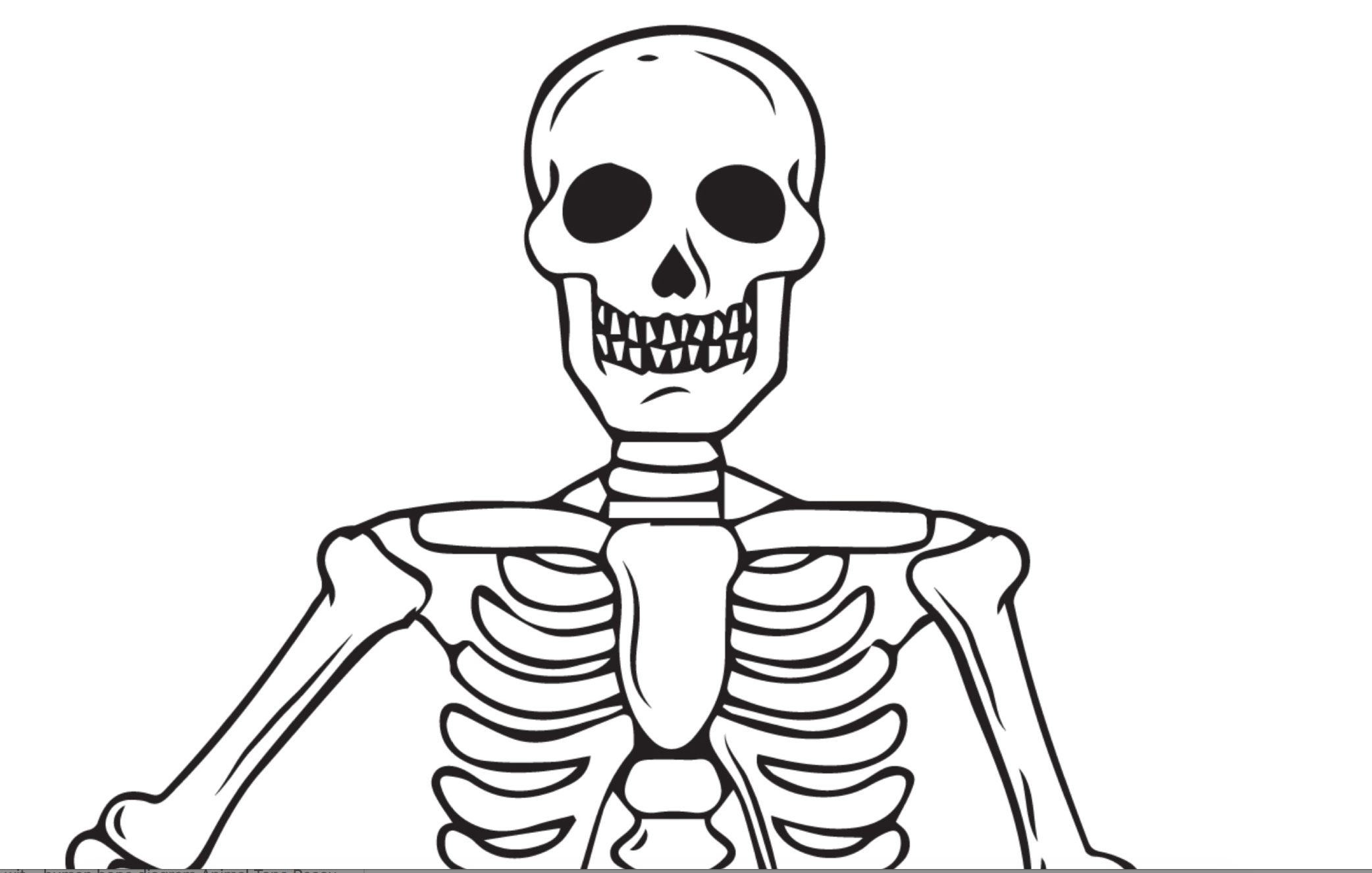Printable Skeleton Coloring Page For Kids Halloween Coloring Pages Halloween Coloring Coloring Pages For Kids [ 1326 x 2084 Pixel ]