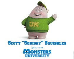 Monsters University Characters Names And Pictures Google Search Squishy Monsters University Monster University Monsters Inc University