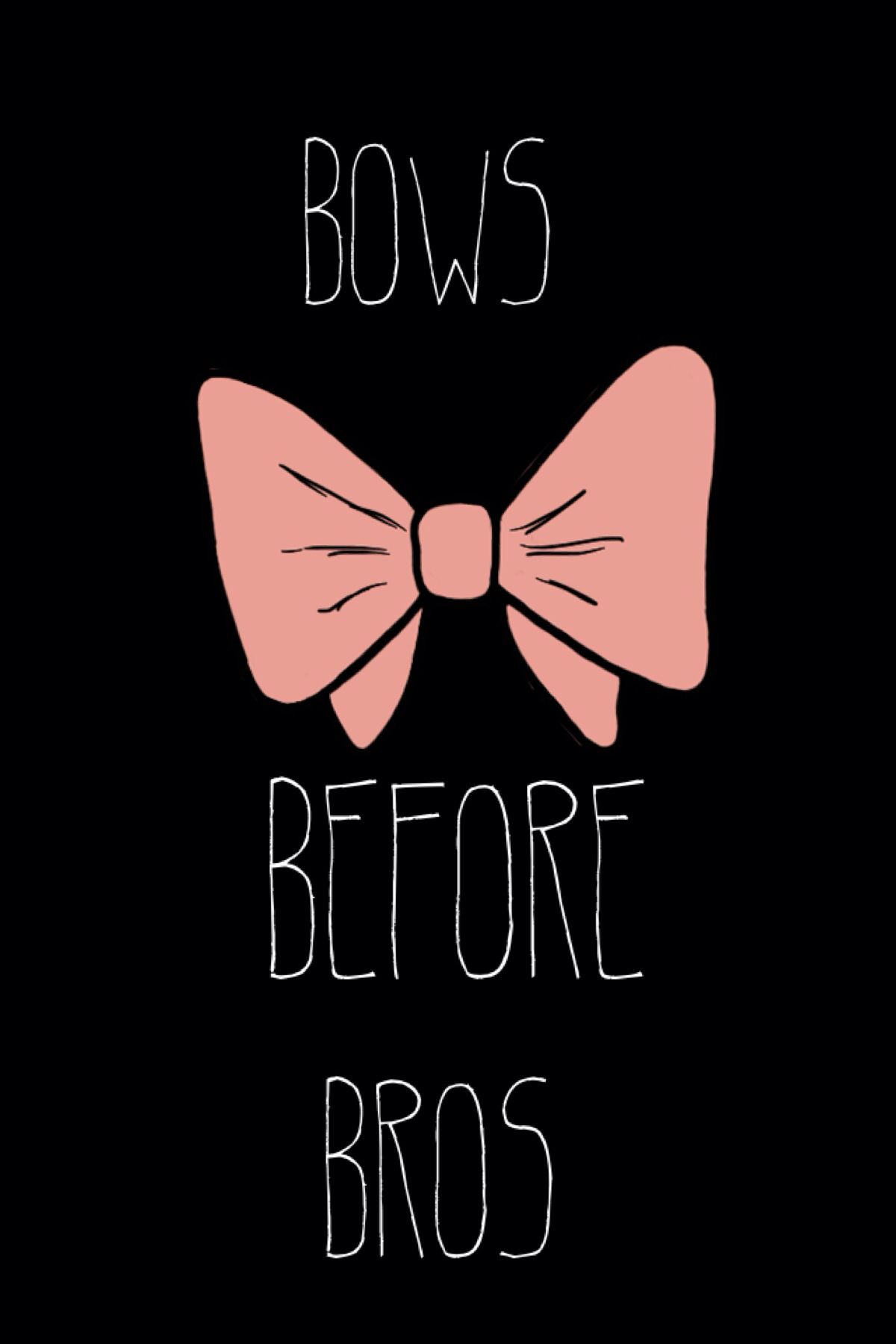 Bows Before Bros Cute Cheerleaders Bow Wallpaper Iphone Cheer Quotes
