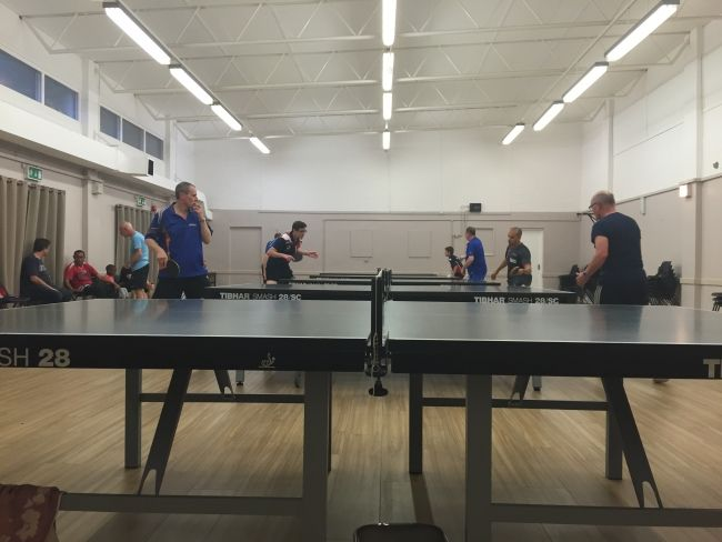 Find and join a local ping pong club to improve your game